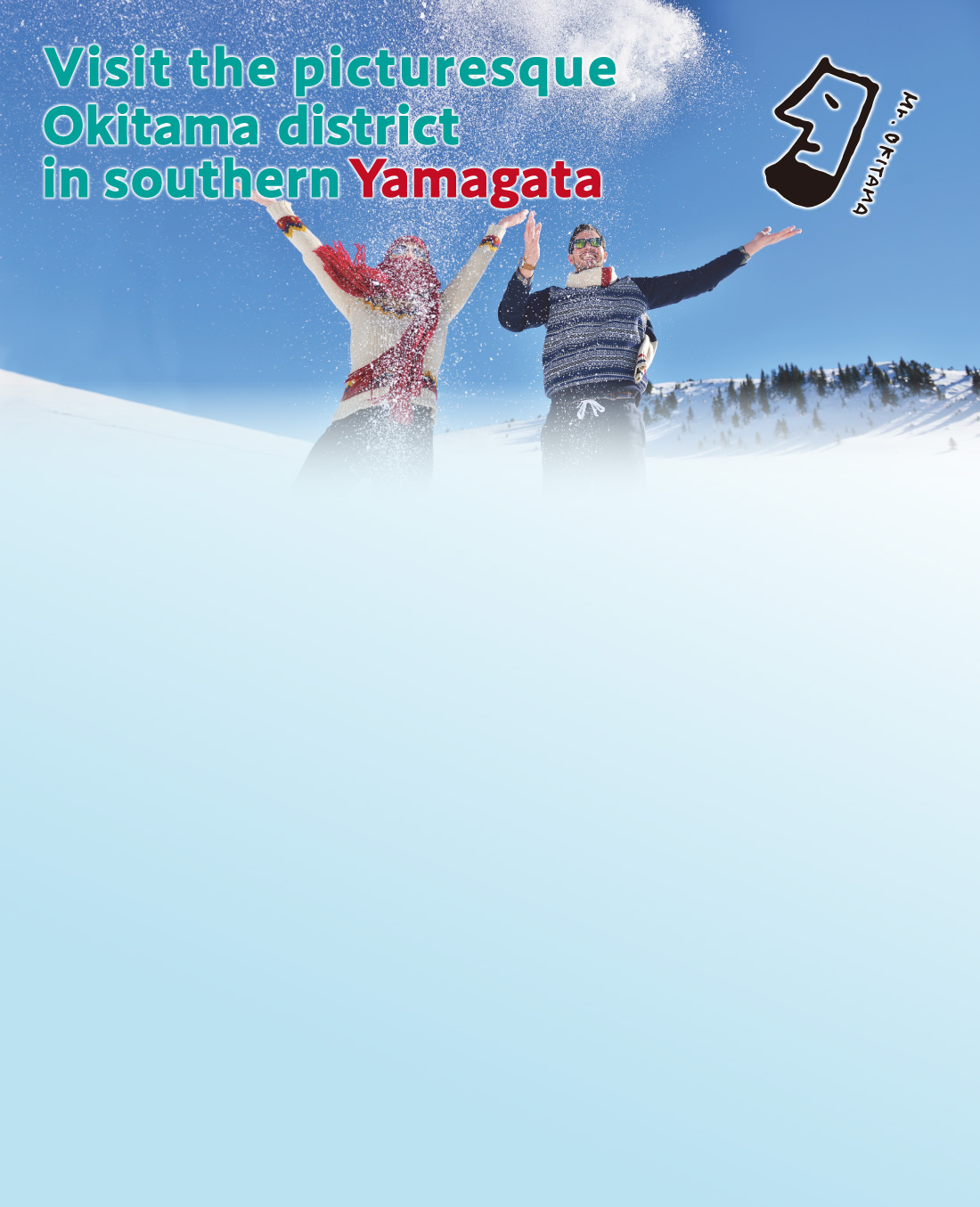 Visit the picturesque Okitama district in southern Yamagata